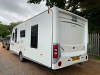 Elddis Golden Mistral 4 Berth Caravan FIXED ISLAND BED, MOTOR MOVER, Bargain !