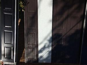 Porte de garage 9x7 brun commercial