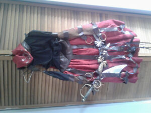 Women's steampunk pirate costume