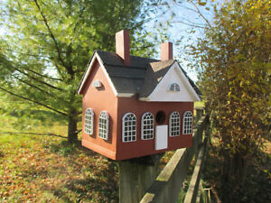 Hand Made Wooden Birdhouses Stratford Kitchener Area image 1