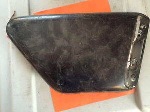 1973 Yamaha TX750 Right Sidecover Oil Tank Cover