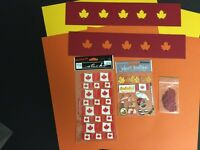 Canada stickers and card stock