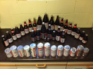 Budweiser Bottle and Can Collection