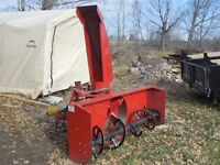 "78"" Rear Mount Snow Blower"