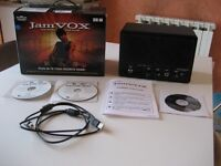 Jam Vox Guitar amp and effects unit