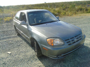 2005 HYUNDAI ACCENT-LICENSED & INSPECTED- 126,000 KMS
