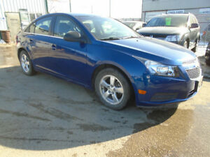 $9,995.00   2012 Chevrolet Cruze LS 4door Sedan