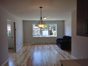Superbe appartement renové avec cour et entrée privées