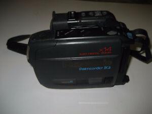 A JVC, AND a Panasonic VHS-C Camcorder
