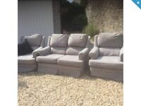 Sofa and 2 chairs FREE to collector.