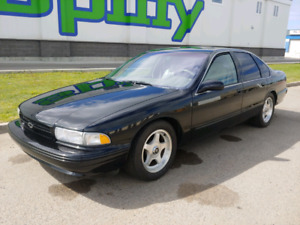 96 Impalla SS LT1 (260hp) 4sp auto,posi,loaded 48000km 2nd owner
