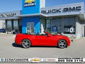 2014 Chevrolet Camaro Leather 2LT-Power convertible-Heads up dis