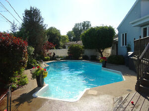 CHATEAUGUAY: EXCEPTIONAL 5 BDR HOME WITH INGROUND POOL FOR SALE