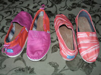 TOMS! various sizes - great condition - some brand new!