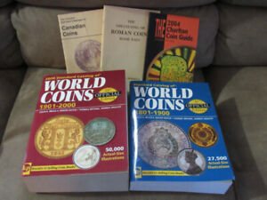 Coin Reference Books 5 In Total Selling As A Lot