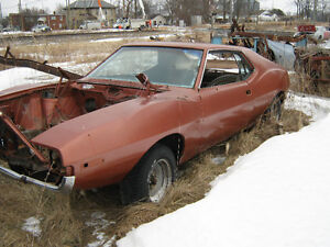 3 AMC Javelin Cars for parts or Restoration