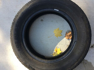 2 year old snow tires (4) London Ontario image 2