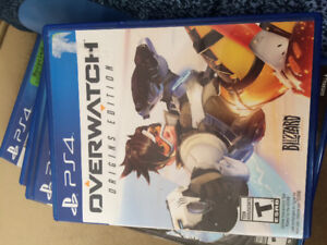 Overwatch for PS4