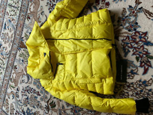 Brand new with tags girls yellow jacket