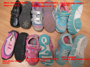 Girls Runners and Shoes Assorted Brands and Sizes
