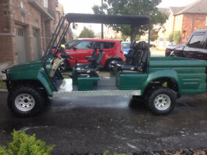 Massive 4 person Golf Cart-72 Volt- One of a Kind!