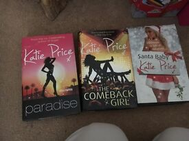 Katie price books- novels