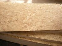 OSB3 ply timber boards 18mm 11mm