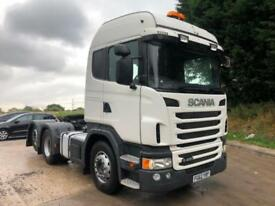 2012 62 Scania G480 6x2 rear lift, Hyva twin line tipping gear,