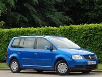 2005 VW TOURAN 1.9TDI 7 SEATS * FULL VW HISTORY * £10,000 WORTH OF INVOICES*