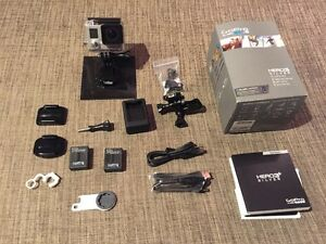 GoPro Hero 3+ with extra accessories - great Christmas gift!!