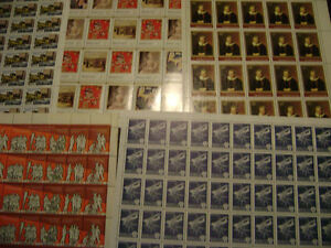 26 FULL Sheets of Russian stamps Gatineau Ottawa / Gatineau Area image 7