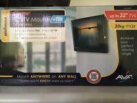 Flat TV mount + Tilt