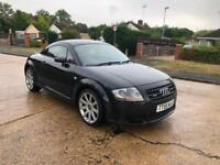 2005 Audi TT Coupe 3.2 V6 quattro 247 BHP full service history red leather
