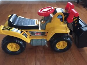 Fisher Price ride on construction truck