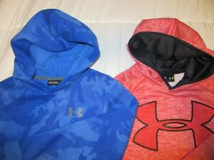 Under Armour Hoodies .... boys size 10/12