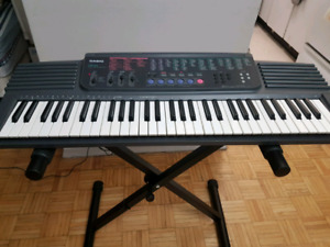 Casio CTK-500 Keyboard with Power Adapter & Folding  Stand