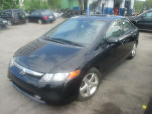 2008 Honda CIVIC AUTOMATIC SUNROOF 147.000 KM SAFETY+ WARRANTY
