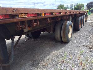 5 Axles and B-Train Heavy Haul Flatbeds