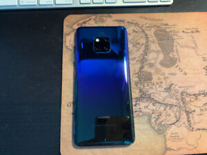 Huawei Mate 20 Pro, 128 go, Twilight, great condition -$650 firm