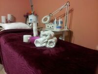 Aesthetic services for females: Facial and Massage special