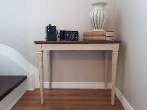 Unique Small Side Table With Hinged Top