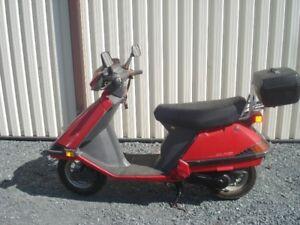 Honda scooter.