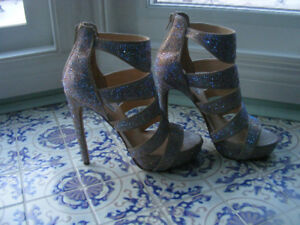 Steve Madden Glitter Stiletto Shoes New
