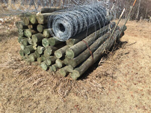 Farm fence posts for sale