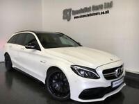 2015 Mercedes-Benz C63 AMG estate 4.0 [Premium] Speedshift Plus *£18K OPTIONS!!*