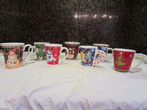 Ensembles de 7 tasses de Noël Saguenay Saguenay-Lac-Saint-Jean image 1