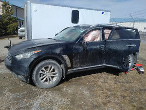 2009 Infiniti FX SUV - DAMAGED - Need to sell asap