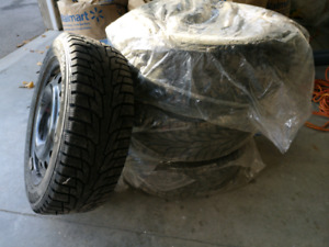 Hankook Winter Pike RS with Metal Rims