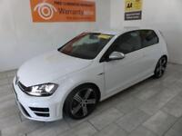 WHITE VOLKSWAGEN GOLF 2.0 R DSG ***FROM £356 PER MONTH***