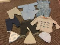 Boy first size bundle fits just over 7lb